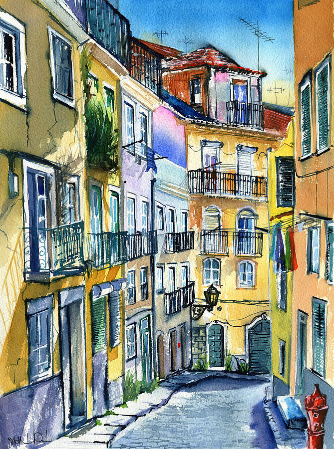 Sunny Day In Lisbon by Dora Hathazi Mendes