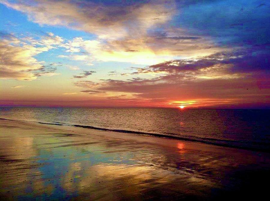 Sunrise Photograph - Sunrise 1 by Michael Stothard