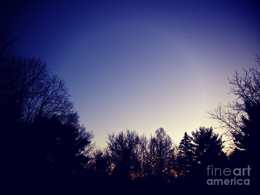 Sunrise After The Blue Hour Photograph