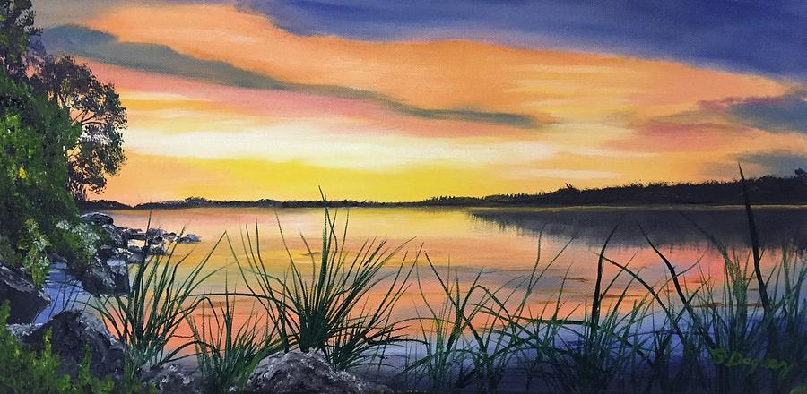 Sunrise April 6 2020 Painting