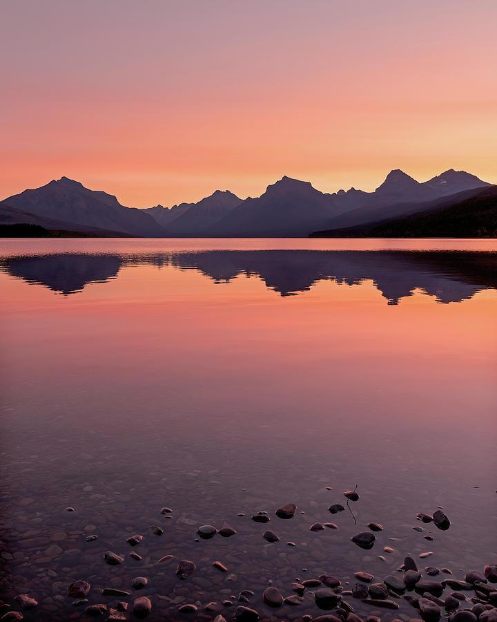 Sunrise At Lake Mcdonald Photograph