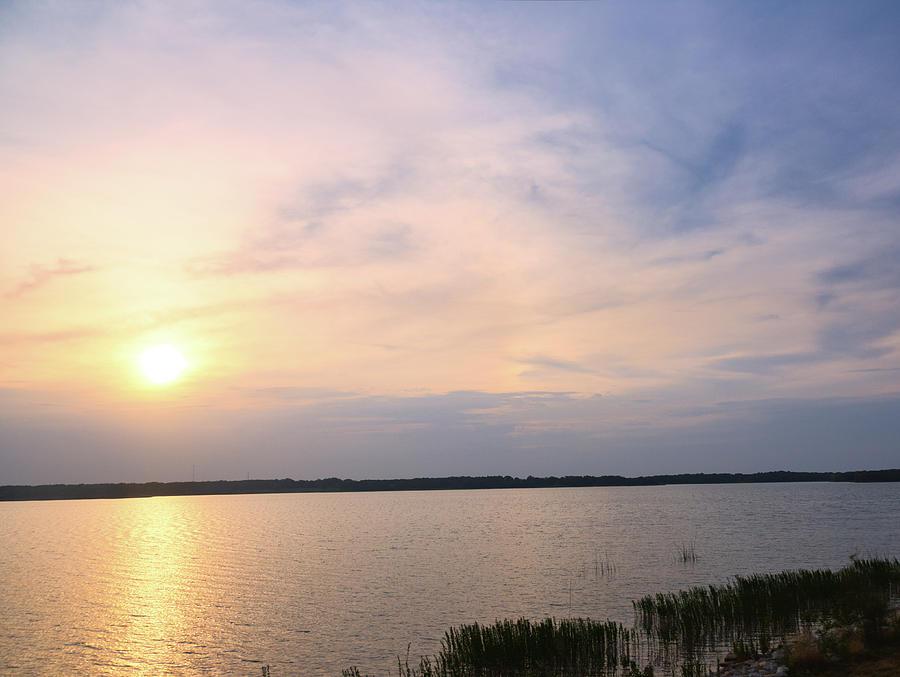 Sunrise At Lake Murray 2 by Andrea Anderegg