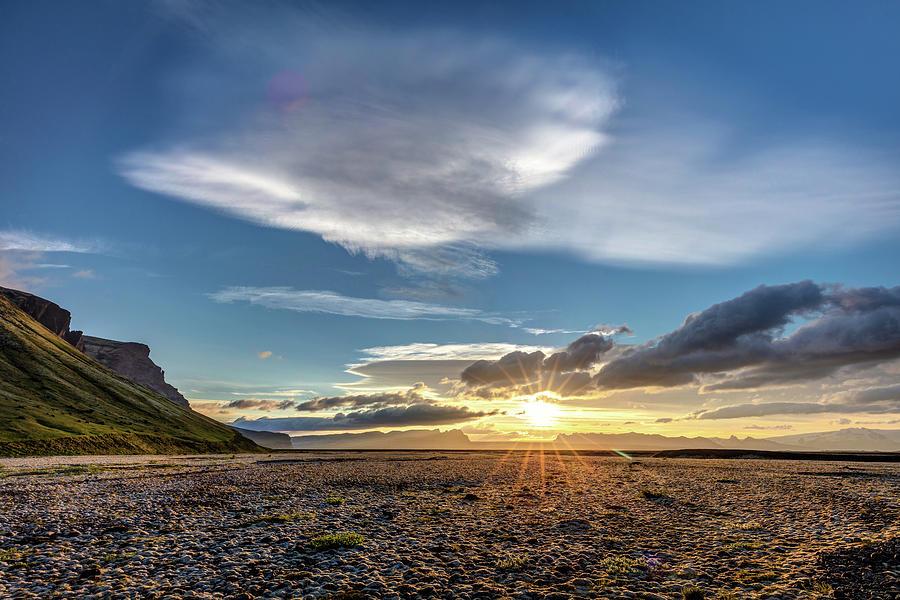 Sunrise At Lomagnupur Photograph