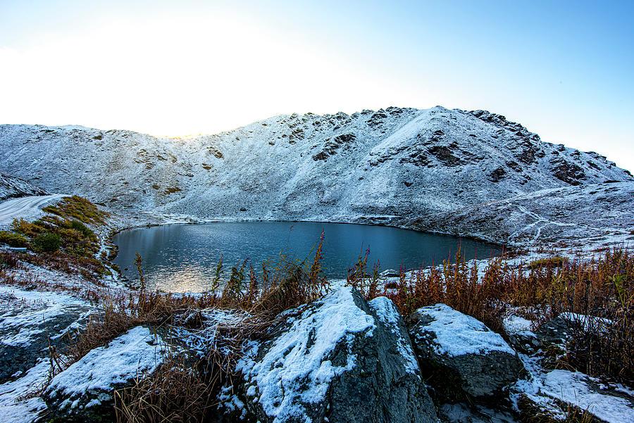 Sunrise At Summit Lake Photograph