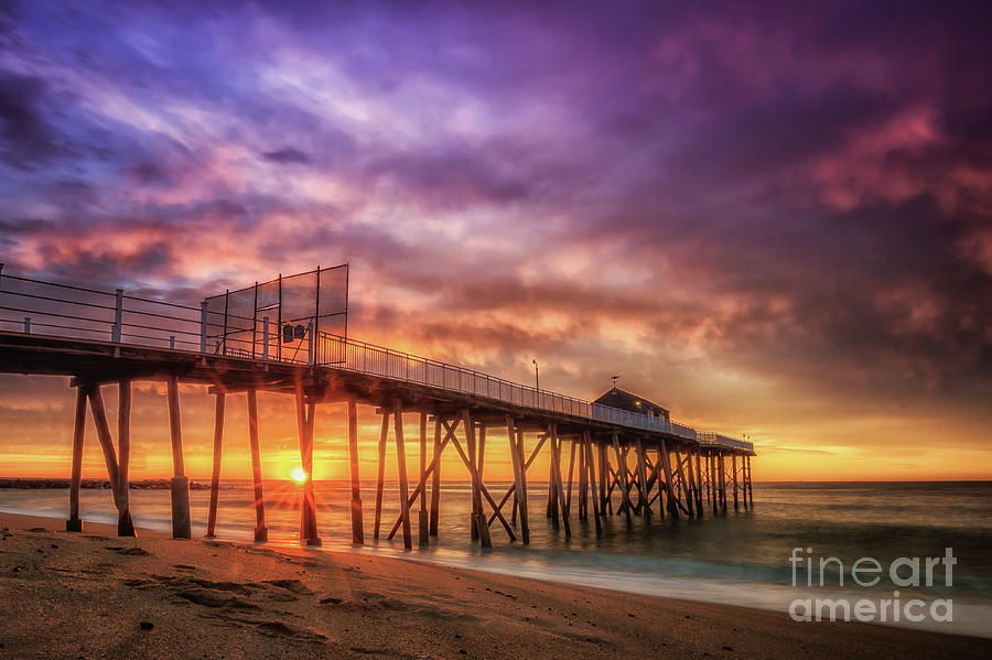 Landscape Photograph - Sunrise By Belmar by Imma Barrera