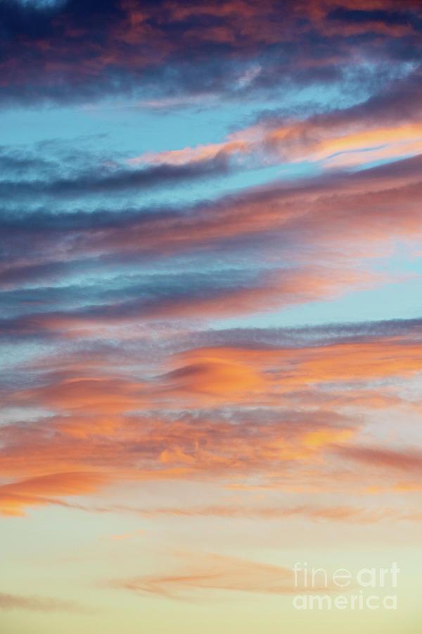 Sunrise Clouds in Autumn by Tim Gainey
