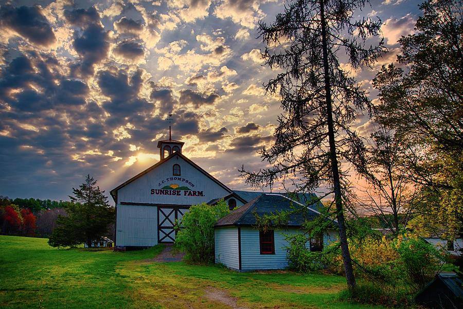 Sunrise Farm Sunrise - Avon, Ct. Photograph