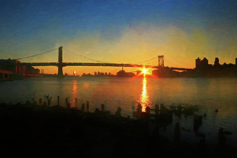 Sunrise In New York by Alice Gipson