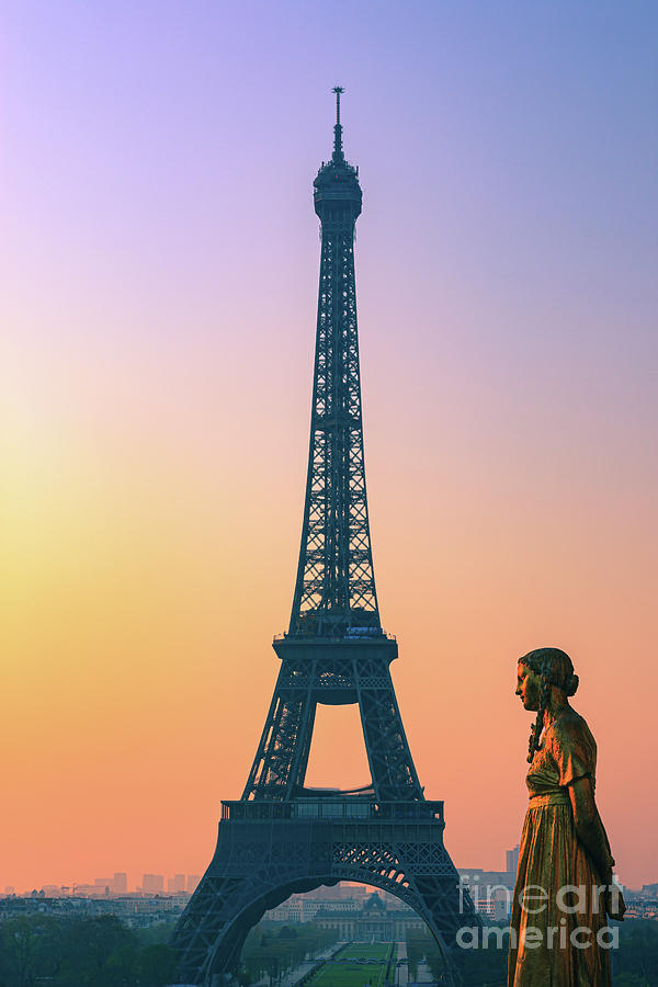 Sunrise In Paris Photograph By Henk Meijer Photography