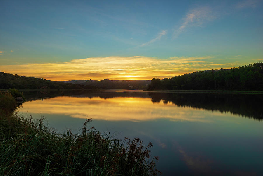 Sunrise in the lagoons of Ruidera by Vicen Photography