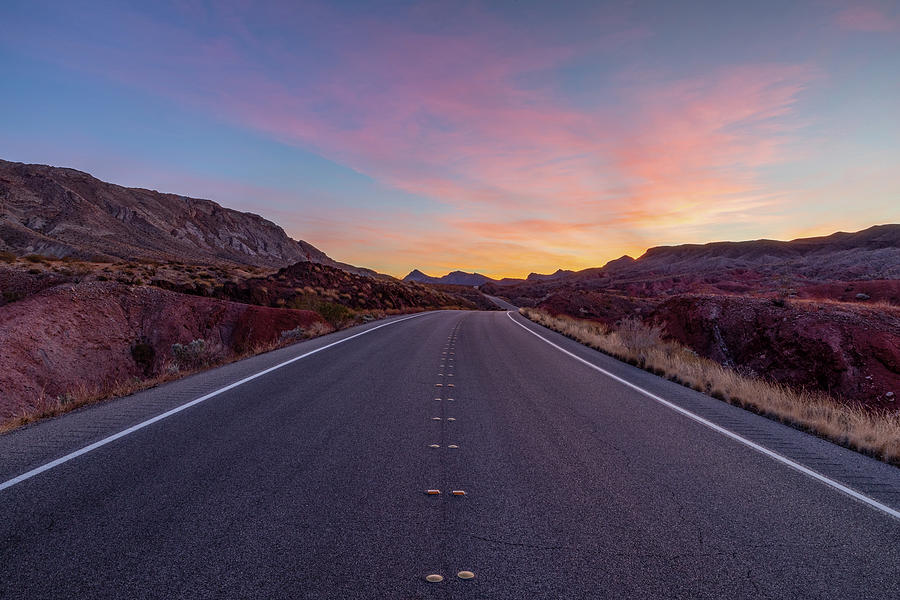 Nevada Photograph - Sunrise Journey by James Marvin Phelps