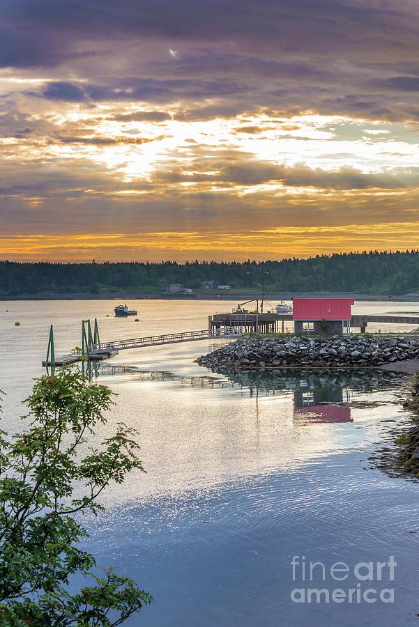 Sunrise Lubec Photograph