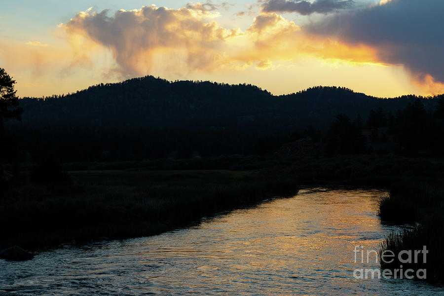 Sunrise On The South Platte River Photograph