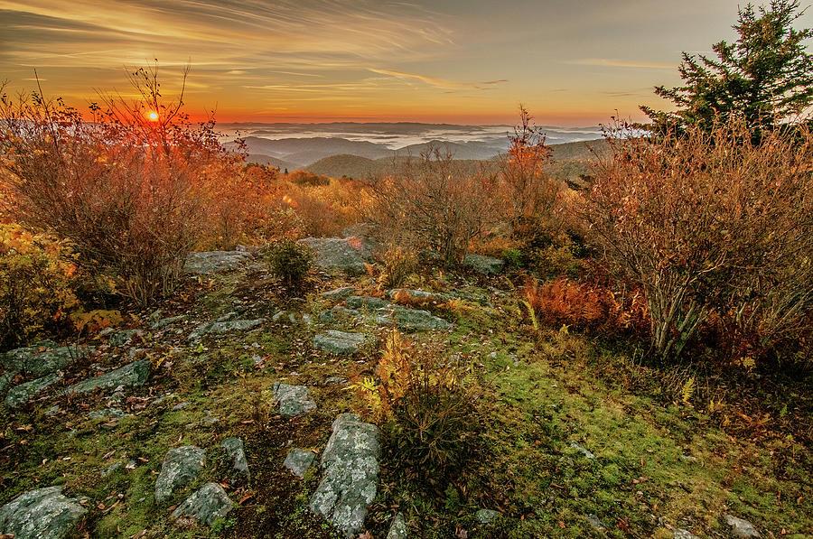Sunrise on Wilburn Ridge by Matthew Irvin