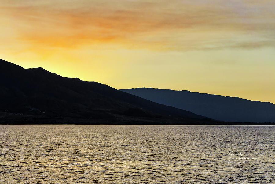Seascapes Photograph - Sunrise Over Maui by Jim Thompson