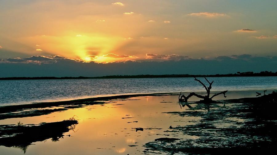 Sunrise Over Mosquito Lagoon Photograph