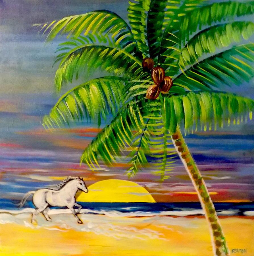 Sunrise Run Painting