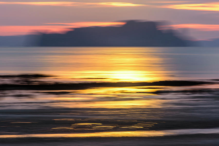 Abstract Photograph - Sunrise Seascape by Lucy Brown