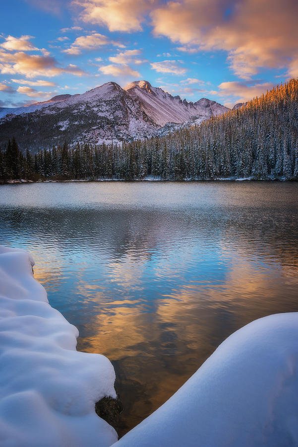 Sunrise Snow at Bear Lake by Darren White