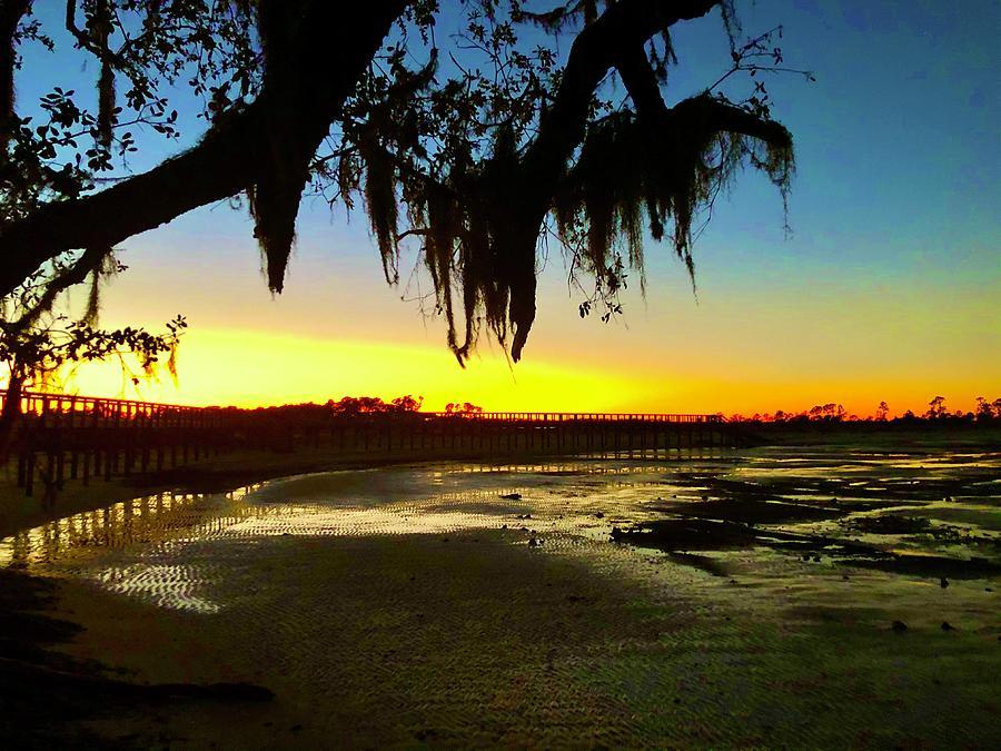 Landscape Photograph - Sunset 1 by Michael Stothard