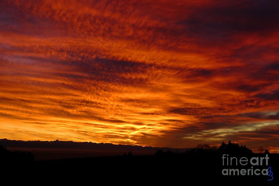 Sunset 12 Photograph
