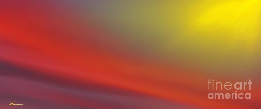 Sunrise Painting - Sunset 3242021 by Jack Bunds