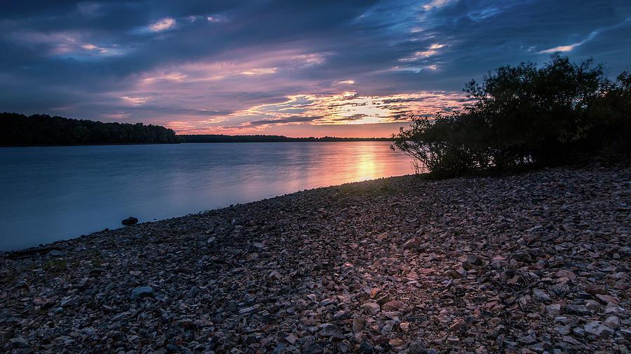 Sunset at Fellows by Allin Sorenson