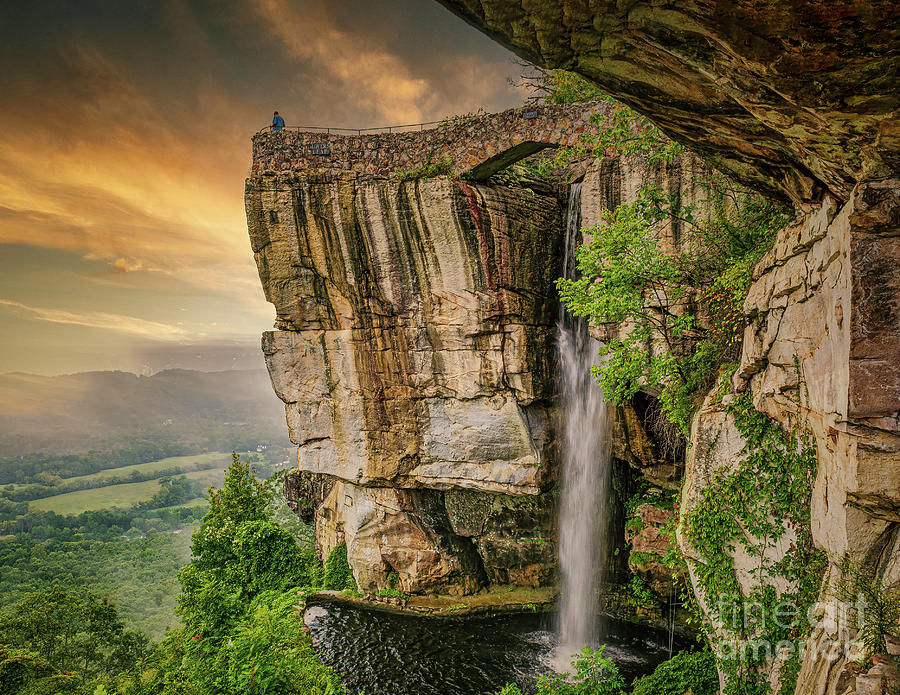 Sunset At Lovers Leap Photograph