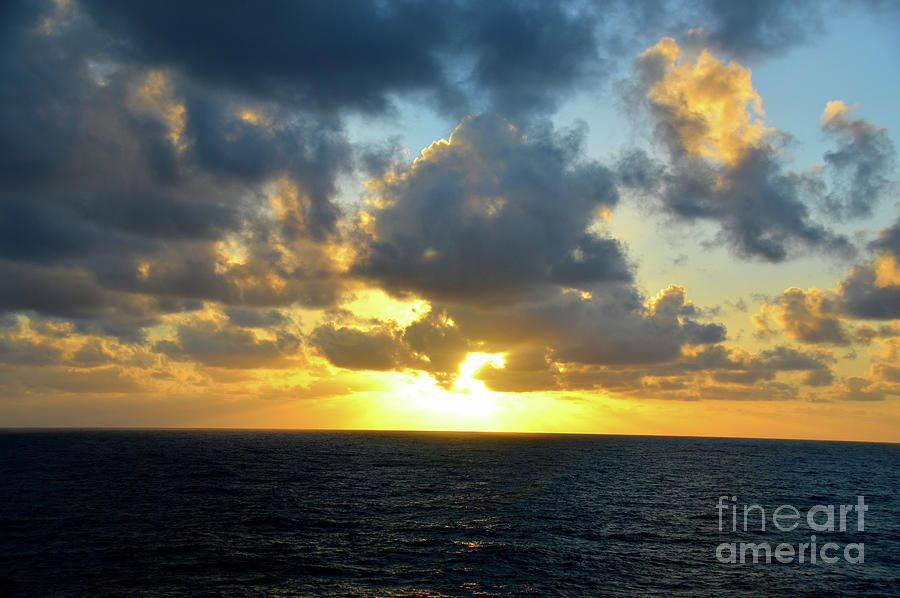 Sunset At Sea by Robyn King