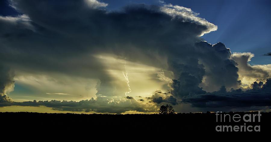 Prairie Photograph - Sunset At The Prairie by Felix Lai