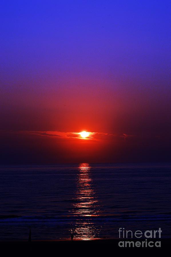 Sunset at Zandvoort by Thomas Schroeder