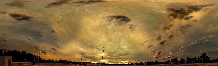 Australia Photograph - Sunset City by Chris Cousins