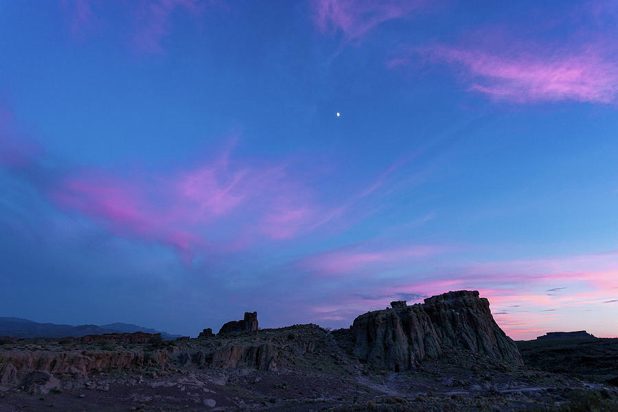Arizona Photograph - Sunset Colors by Jack and Darnell Est