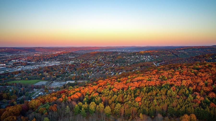 Sunset Colors Vestal, NY by Anthony Giammarino
