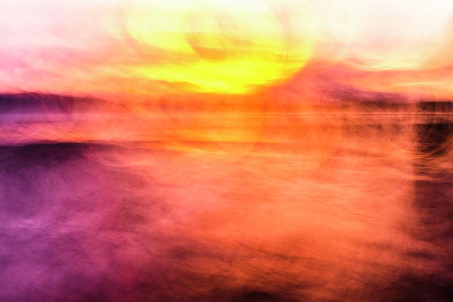 Sunset Colour Explosion Photograph