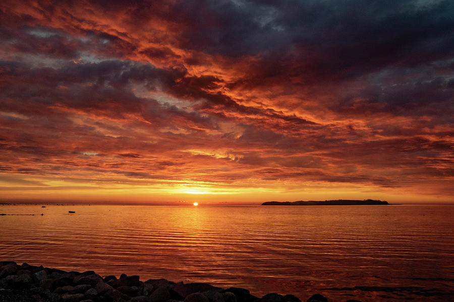 Sunset Drama Photograph