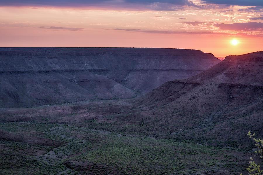Sunset in Damaraland by Belinda Greb