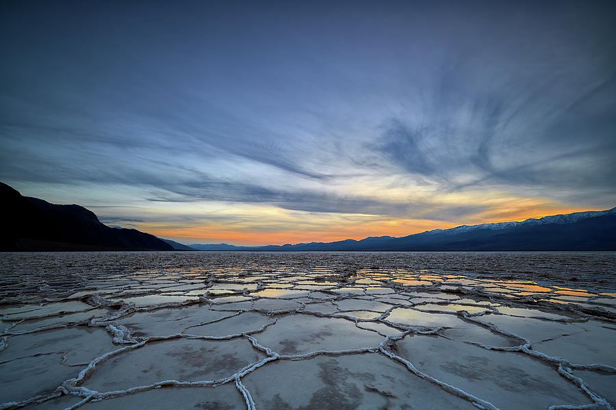 Sunset in Death Valley Flats by Jon Glaser