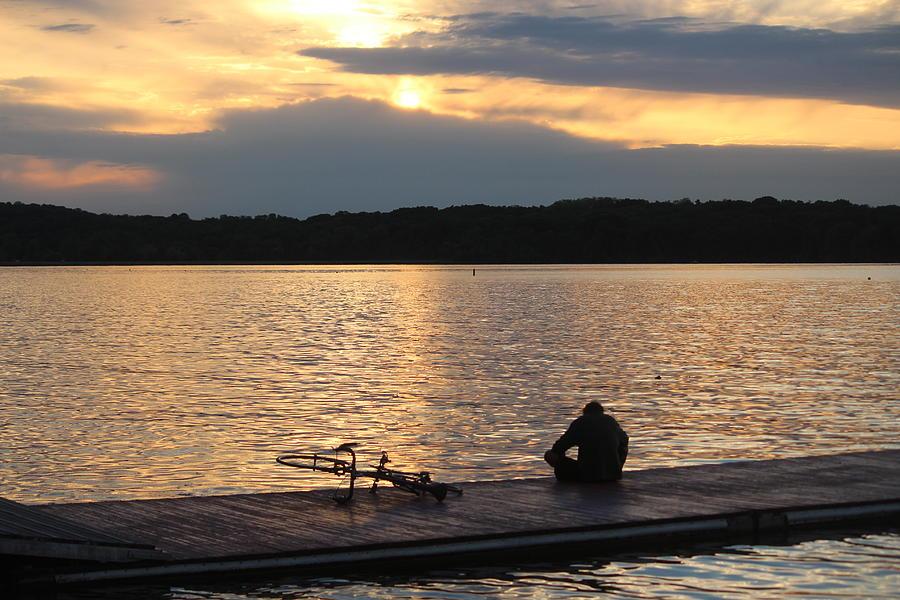 Lake Mendota Photograph - Sunset, Lake Mendota by Callen Harty