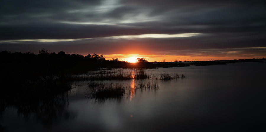 Sunset over Assateague Island by Kyle Lee