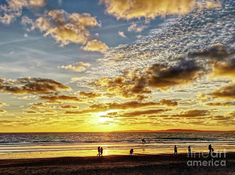 Sunset people by Lidija Ivanek - SiLa