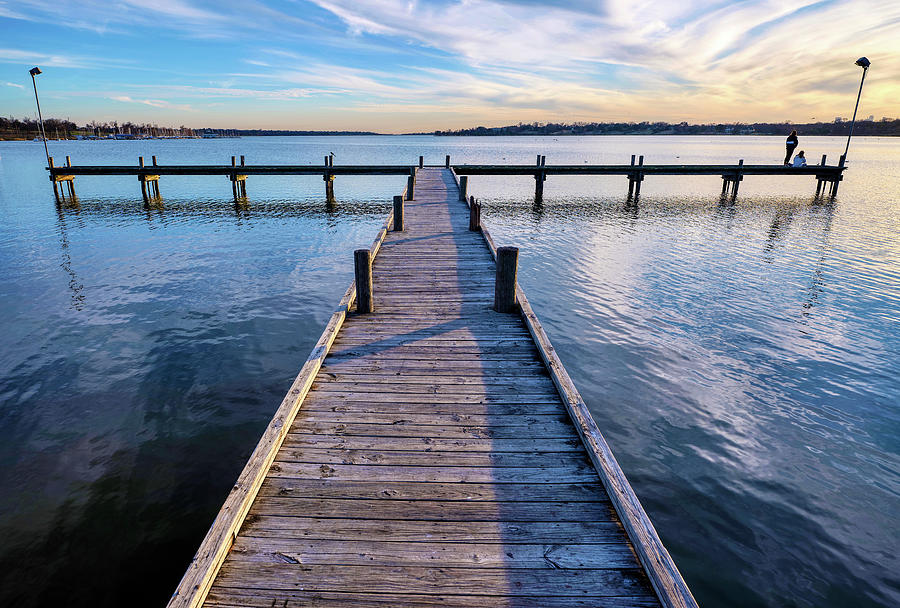 Sunset Pier 011420 by Rospotte Photography