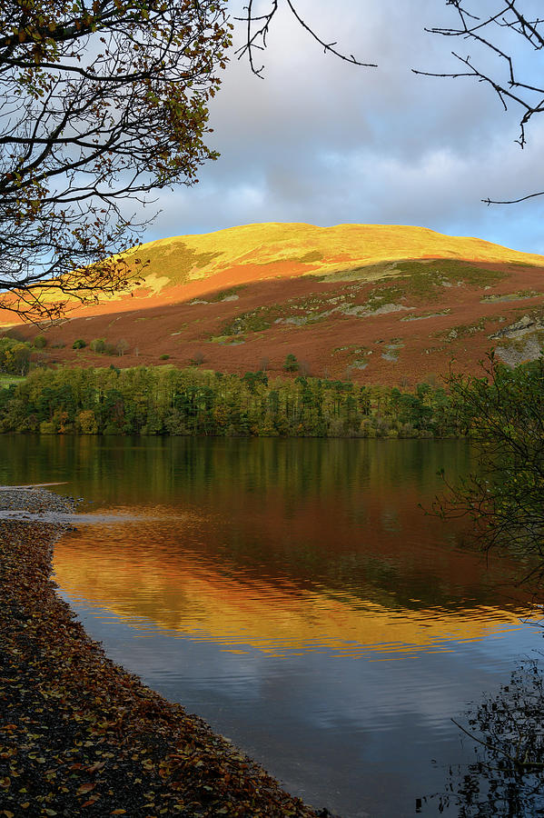 Sunset reflection in Loweswater by Roy Pedersen