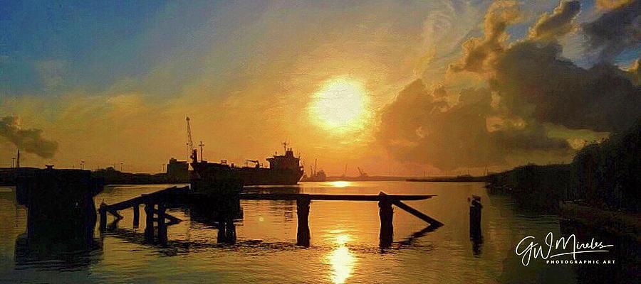 Sunset Seaway by GW Mireles