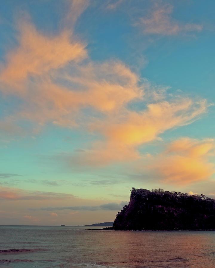 Seascapes Photograph - Sunset South Devon by A J Paul