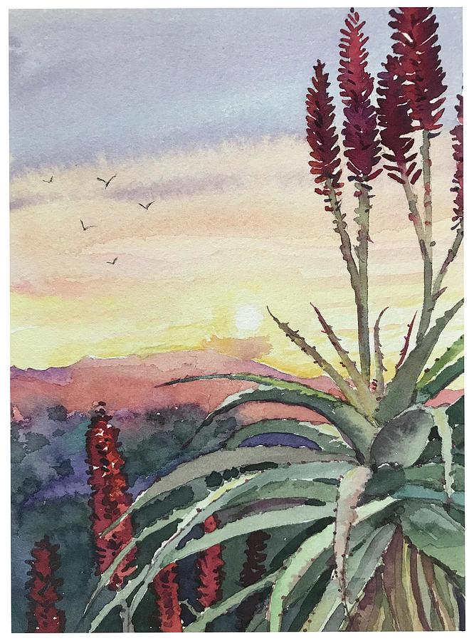 Sunset Topanga Painting