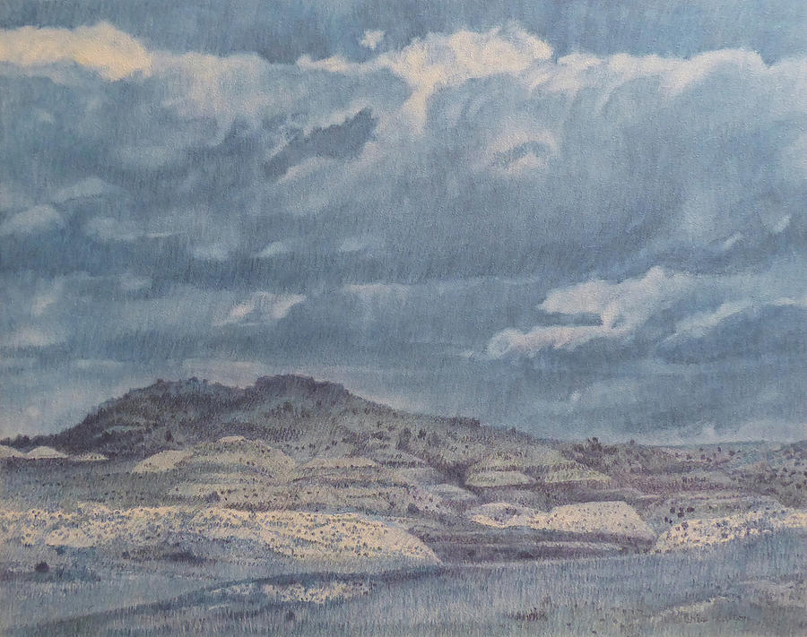 North Dakota Painting - Sunshine and Clouds, painting by Cris Fulton