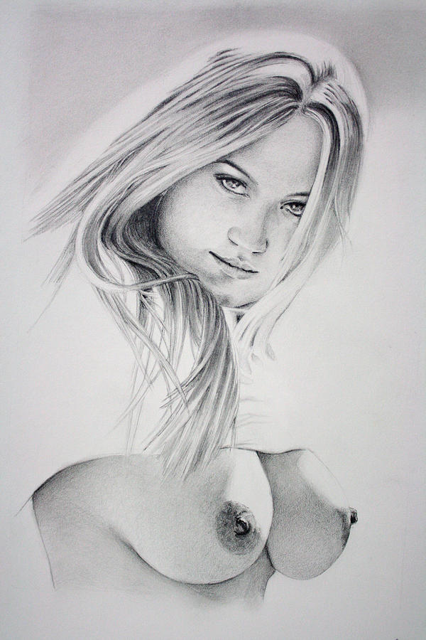 Drawings Naked Women Images, Stock Photos Vectors