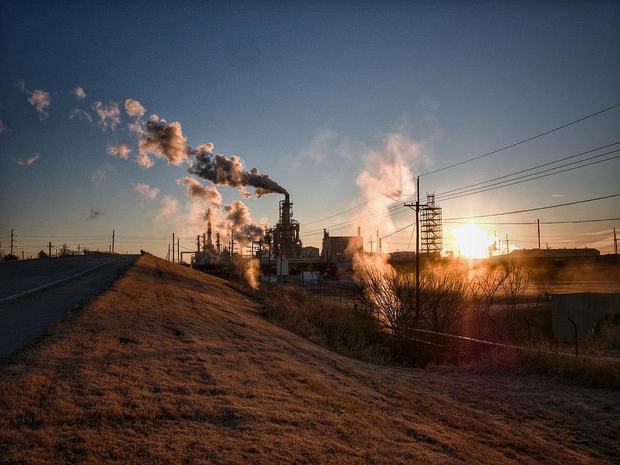 Sunup Refinery Photograph
