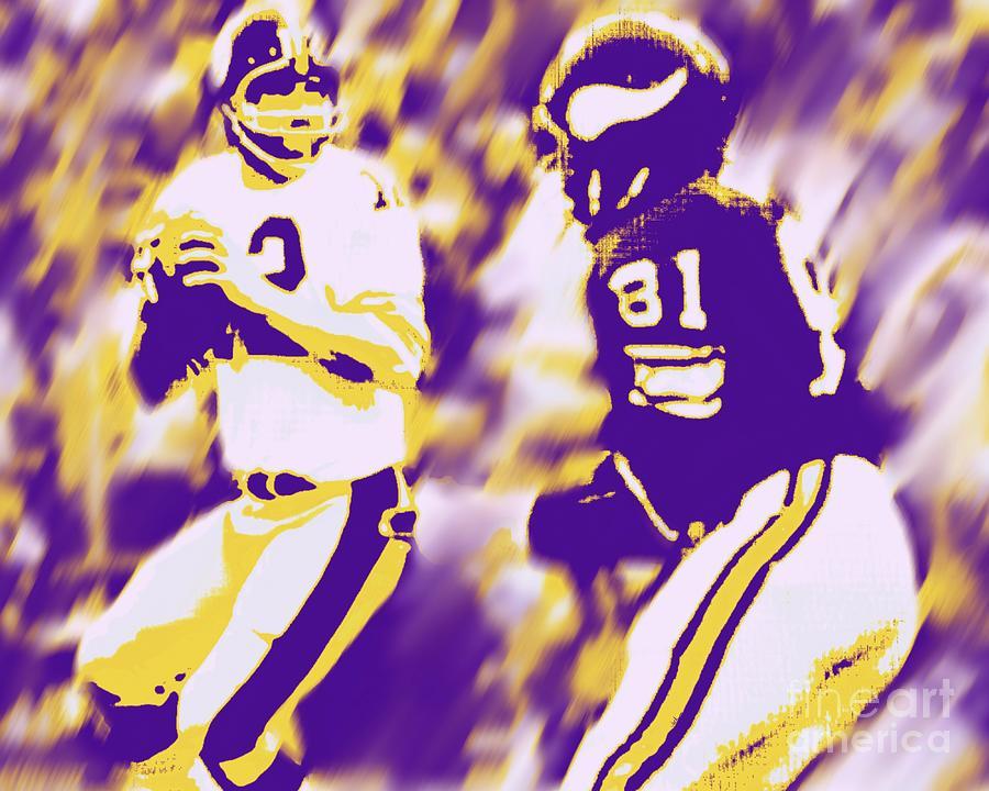 Super Bowl Painting - Super Bowl 9 by Jack Bunds